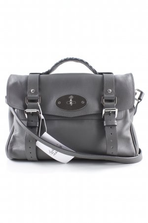 Mulberry Satchel dunkelgrau Business-Look
