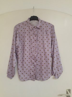 Mulberry Long Sleeve Blouse purple-brown
