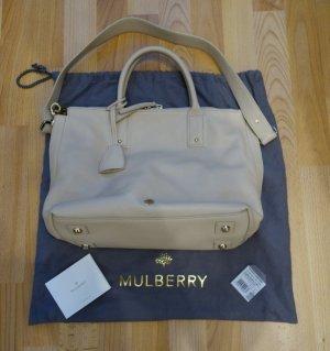 Mulberry Small Alice Zip Tote Bag Slouch Tasche Classic Grain Buttercream *neu*