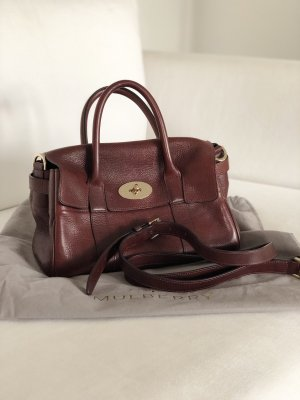 Mulberry small Bayswater oxblood