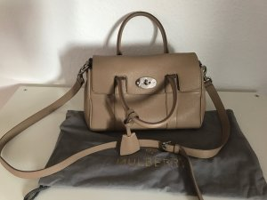 Mulberry Small Bayswater Satchel in Mushroom