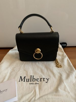 Mulberry Small Harlow schwarz