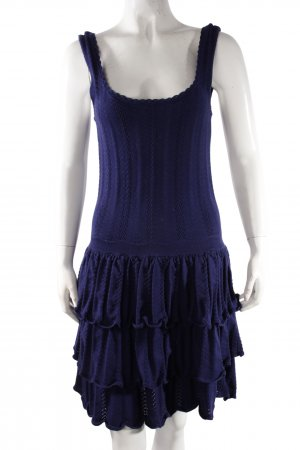Mulberry Strickkleid blau