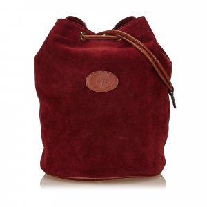 Mulberry Suede Leather Shoulder Bag