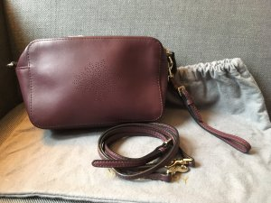 Mulberry Crossbody bag brown violet-blackberry-red