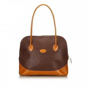 Mulberry Textured Leather Handbag