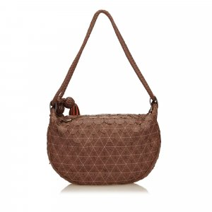 Mulberry Textured Leather Shoulder Bag
