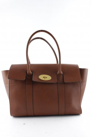 "Mulberry Borsa larga ""Bayswater Grain Veg Tanned Tote Oak"""