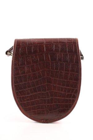 Mulberry Sac bandoulière brun imprimé allover style décontracté