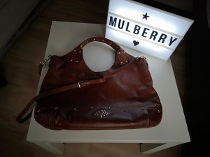 Mulberry Shoulder Bag brown-cognac-coloured