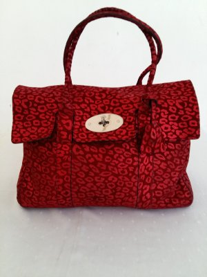 Mulberry Sac Baril rouge foncé
