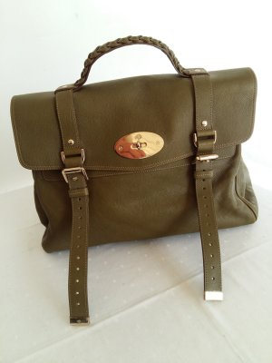 Mulberry Sac Baril vert olive