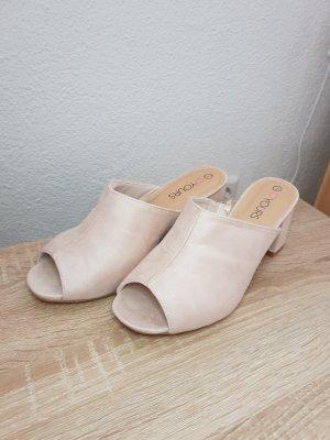 High Heel Sandal oatmeal-pink