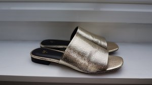 H&M Mules gold-colored