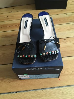 Alberto Guardiani Heel Pantolettes multicolored