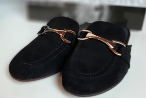 Deichmann Slippers black
