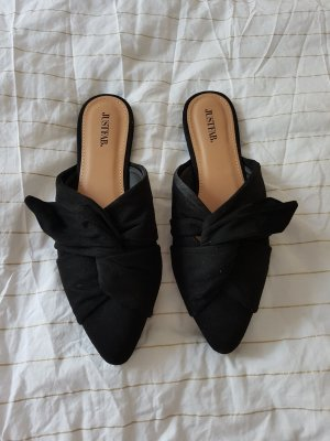 JustFab Mules black