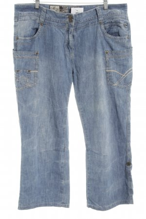 Multiblu 3/4 Length Jeans blue casual look