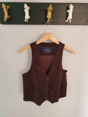 Multiblu Gilet de costume brun foncé