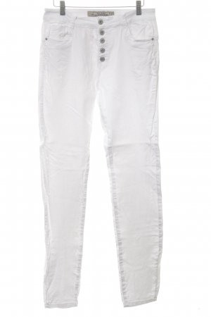 Multiblu Hoge taille jeans wit casual uitstraling