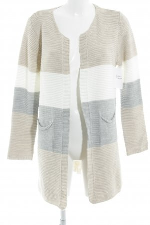 Multiblu Strickjacke Ringelmuster Casual-Look