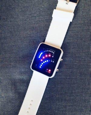 Multicolor LED Armbanduhr