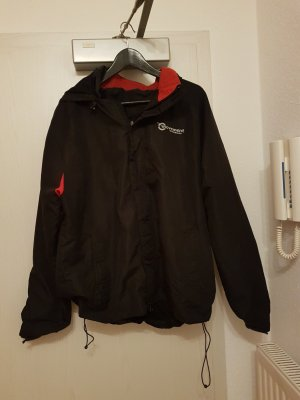 Multifunktionale Jacke in L (Rot-Schwarz)