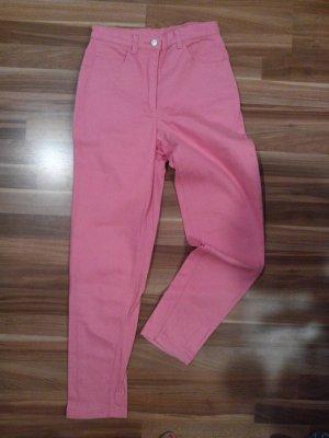 mum mom jeans karotte gerade weit cool pink blogger