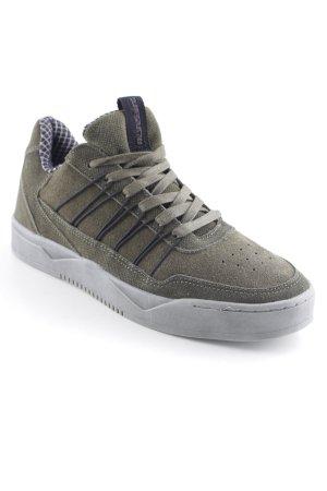 Mundart Sneaker stringata verde prato-nero stile atletico