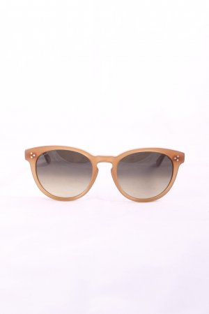 Munic Round Sunglasses light brown casual look