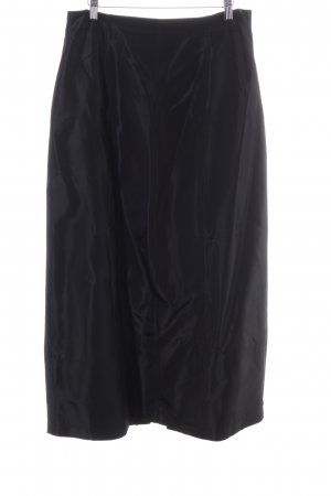 Murek Fashion Maxi Skirt black business style