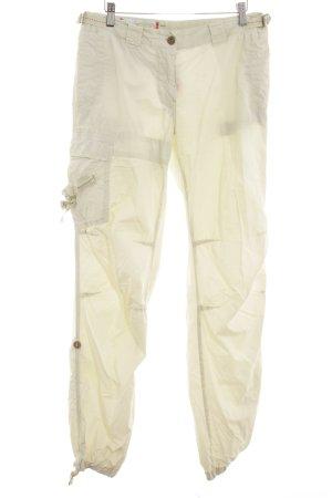 Murphy & nye Pantalone cargo giallo chiaro stile casual