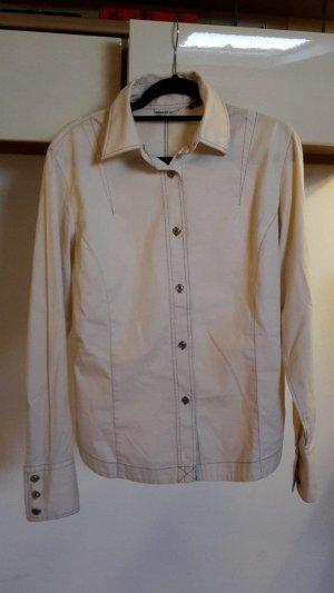 Long Sleeve Shirt cream-oatmeal mixture fibre
