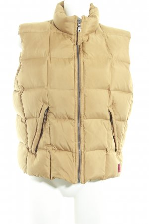Murphy & nye Quilted Gilet camel-sand brown casual look