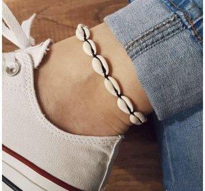 Muschelarmband Fußkette Muscheln neu Instagram Blogger Boho Ibiza