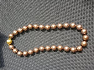Pfeffinger Pearl Necklace cream