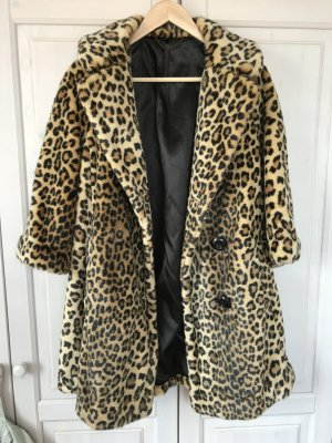 Must-have Faux Fur Leopardenmamtel