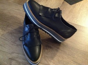 Görtz Business Shoes black leather