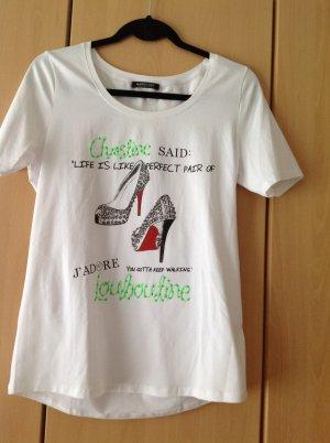 Must Have - Print Shirt von Margittes mit Neonfarben und Ziersteine!