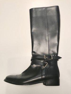 Burberry Hoge laarzen zwart Leer