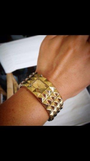 MUST HAVE !!! Seltene Esprit Uhr im Armreiflook