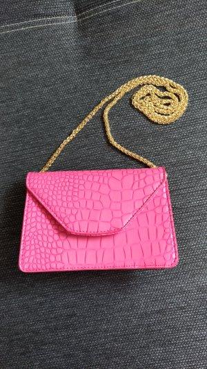 Mini sac rose faux cuir