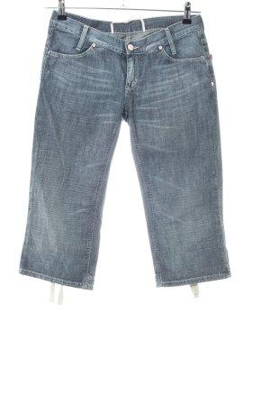 Mustang 3/4 Jeans blau Casual-Look