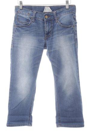 Mustang 3/4 Jeans kornblumenblau Casual-Look