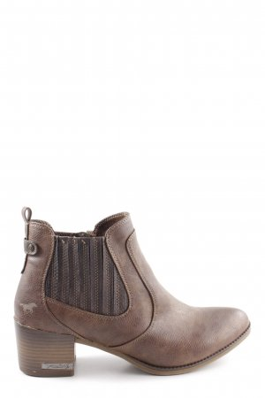 Mustang Ankle Boots braun Casual-Look