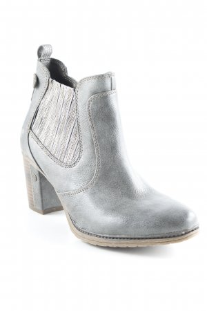 Mustang Ankle Boots grau-graubraun Casual-Look