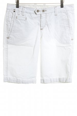 Mustang Bermudas white casual look