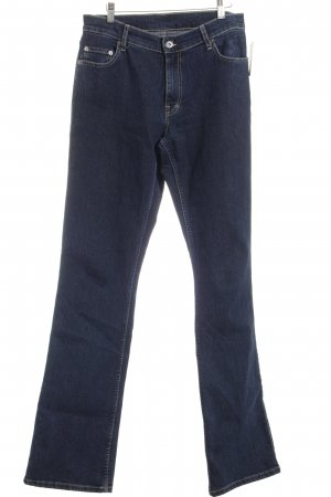 Mustang Boot Cut Jeans dunkelblau Casual-Look