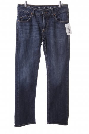 Mustang Boot Cut Jeans dunkelblau Jeans-Optik
