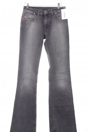 Mustang Boot Cut Jeans grau Casual-Look